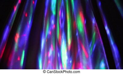 multi-colored motion light