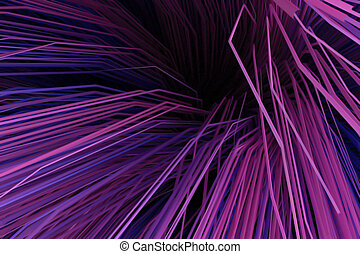 Abstract background with multicolored curved lines