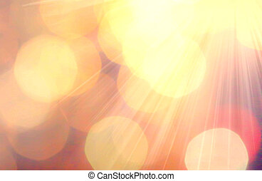 Abstract background with natural Bokeh texture and defocused...