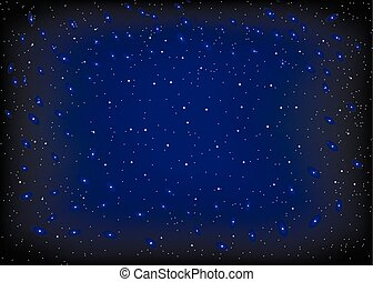 abstract background with night sky and stars.