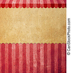 Abstract background with old paper