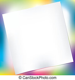 Abstract background with paper