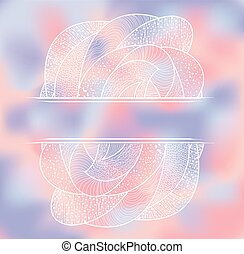 Abstract  background with pattern.