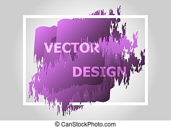 Abstract background with purple gradient