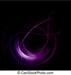 Abstract background with purple lines. Vector