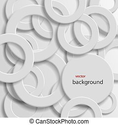 abstract background with rings