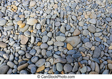 Abstract background with round peeble stones. Background