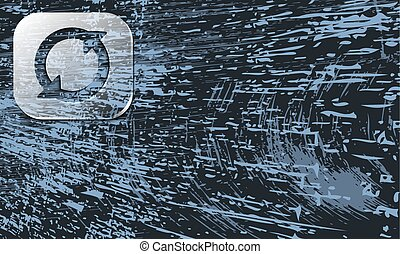 abstract background with scratches and transparent arrows