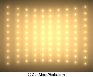 Abstract background with small glimmers