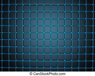 abstract background with smoothed plates