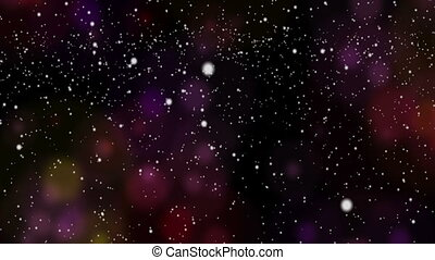 Abstract Background with snow