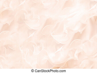 abstract background with soft gentle wavy rose petals ...