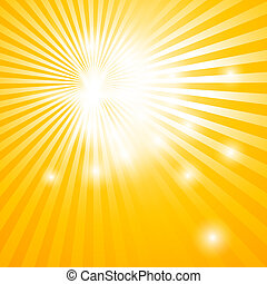 abstract background with sun rays