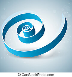 abstract background with swirl