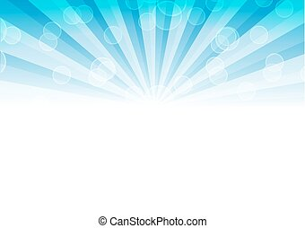 abstract background with text - illustration. Vector illustration of a glowing