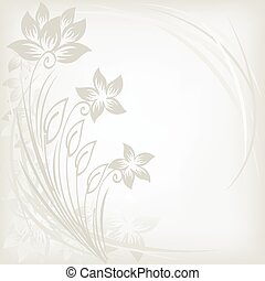 abstract background with three flow