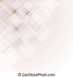 abstract background with transparent rhombus. vector illustration