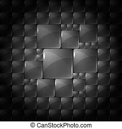 Abstract background with transparent squares. Eps 10