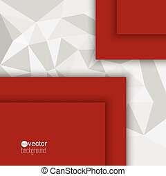 Abstract background with triangles and polygonal. for...