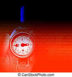 abstract background with watches - Mens watches on abstract ...
