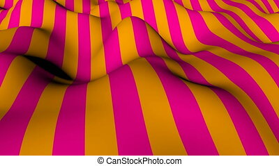 Abstract background with waving of colorful stripes