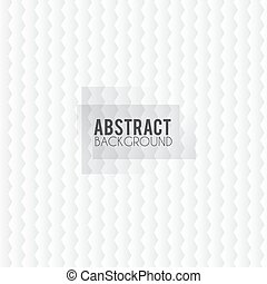 abstract background with white paper cut shapes. Vector...