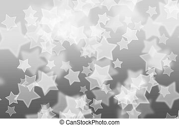 abstract background with white star