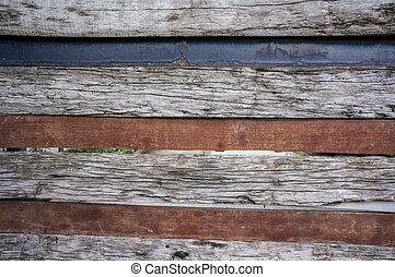 Abstract background wooden door