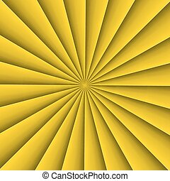Abstract background - Yellow background form in abstract fan...