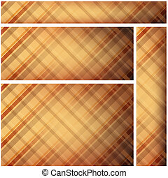 Abstract Backgrounds - Checkered Texture, Vector Illustration