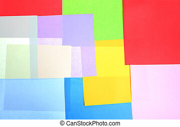 Abstract backgrounds superimposed together colors paper texture