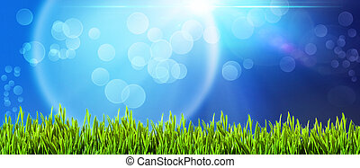 abstract backgrounds with beautiful bokeh and lens flare