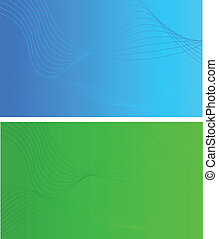 Abstract backgrounds with wave design