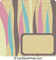 Abstract background.Vector card