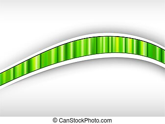 Abstract backround green, 3d with striped pattern, spring...