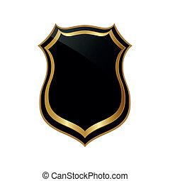 Abstract badge