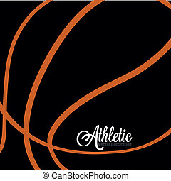 abstract ball - abstract basketball background with zoom