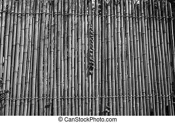abstract bamboo wall