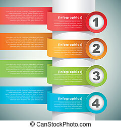 vector abstract banner infographic elements