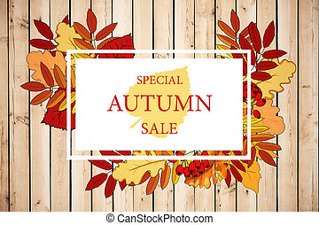 Seasonal sale concept