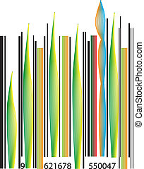 Abstract Barcode