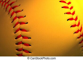 Abstract baseball background