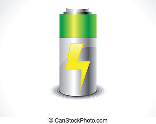 abstract Battery icon vector