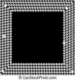 Abstract beautiful black diamond background vector ...