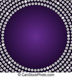 Abstract beautiful diamond background vector illustration