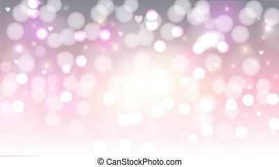 Abstract beauty Christmas and New Year background. Footage