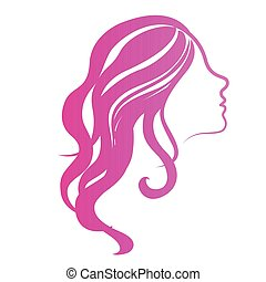 Abstract beauty girl avatar