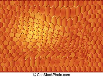 abstract beehive background