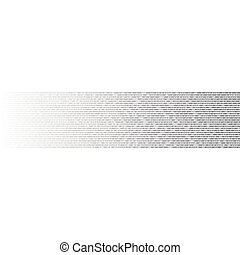 Abstract binary code background , Vector
