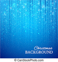Abstract binary code background with snowflakes. Vector illustration.